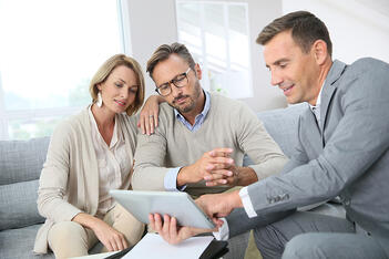 A public adjuster helps ensure his clients are compensated fairly for their damages.