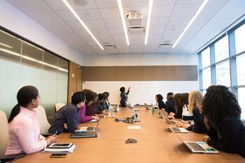 A board room of private insurance companies