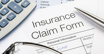 A homeowner insurance claim form