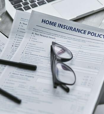 A standard homeowner's insurance policy.