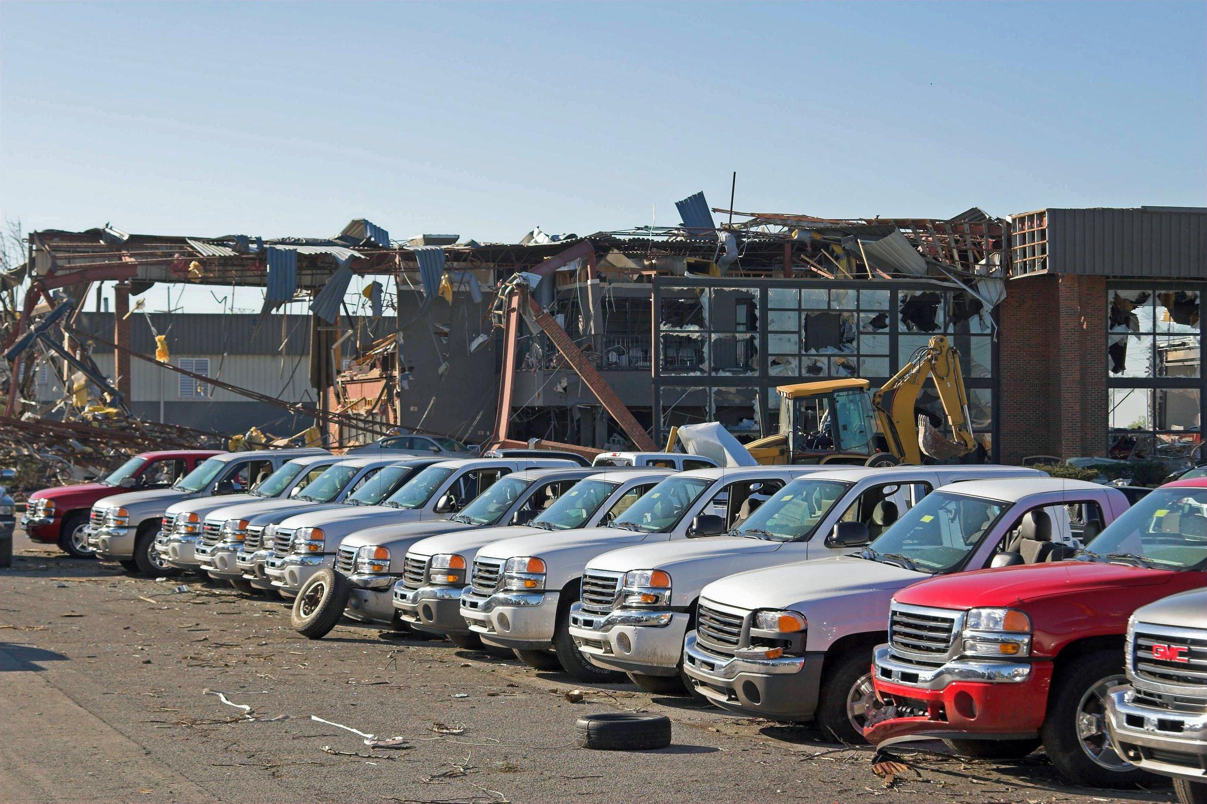 commercial property damage claim